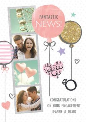 Greeting Cards - Engagement Congratulations Card - Image 1