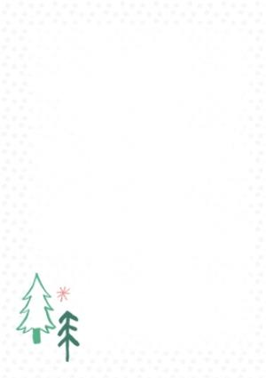 Greeting Cards - Christmas Wishes Pink Photo Upload Christmas Card - Image 2