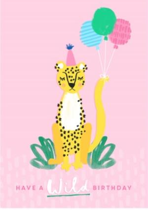Greeting Cards - Female Birthday card - animals - wild birthday - Image 1