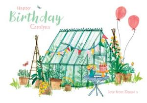 Greeting Cards - Birthday Card - Happy Birthday - Gardening - Image 1