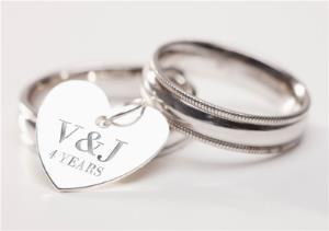 Greeting Cards - Custom Wedding Anniversary Card - Image 1