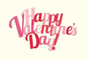 Greeting Cards - Bright Happy Valentine's Day Card - Image 1
