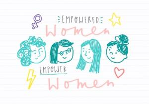 Greeting Cards - Empowered Women Card - International Women's Day Card - Just Because - Image 1