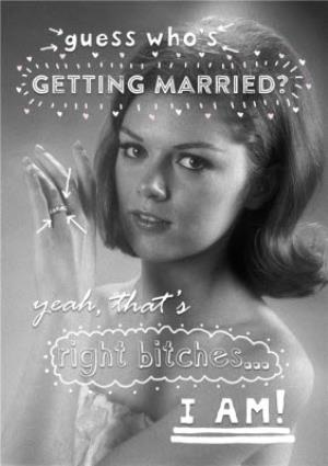 Greeting Cards - Guess Who's Getting Married Funny Personalised Engagement Card - Image 1