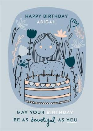 Greeting Cards - Beautiful As You Birthday Card  - Image 1