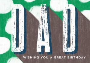 Greeting Cards - Dad Birthday Card  - Image 1