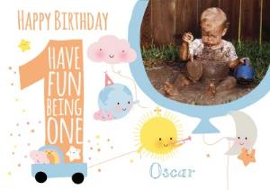 Greeting Cards - 1st Birthday Card - Image 1