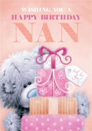 Tatty Teddy Happy Birthday Nan Card