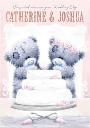 Greeting Cards - Tatty Teddy Congrats On Your Wedding Day Card - Image 1