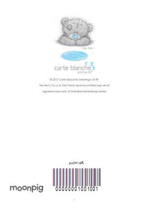 Greeting Cards - Carte Blanche Beautiful Girlfriend Personalised Card - Image 4