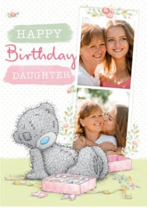Greeting Cards - Daughter Birthday Card - Tatty Teddy - photo upload card - Image 1