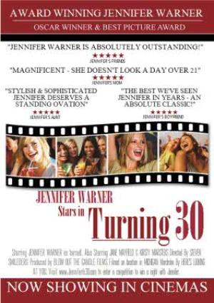 Greeting Cards - 30th Birthday Card - Film Poster Parody - Image 1