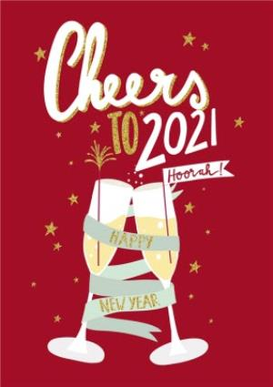 greeting cards new years card cheers to 2019 image 1