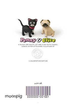 Greeting Cards - Cat And Dog Funny Caption Personalised Happy Anniversary Card - Image 4