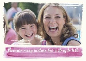Greeting Cards - Because Every Picture Has A Story To Tell Photo Card - Image 1