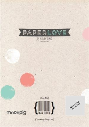 Greeting Cards - Colourful Polka Dot Save The Date Wedding Card - Image 4