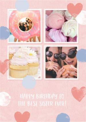 Greeting Cards - Best Sister Ever Photo Upload Birthday Card  - Image 1