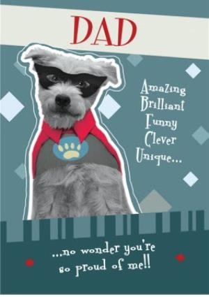 Greeting Cards - Father's day dog card - Image 1