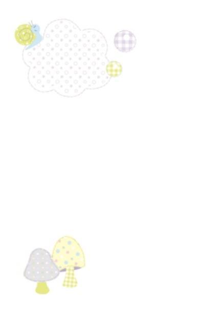 Greeting Cards - Little Blue Elephant Personalised Photo Upload Baby Naming Day Invitation Card - Image 2