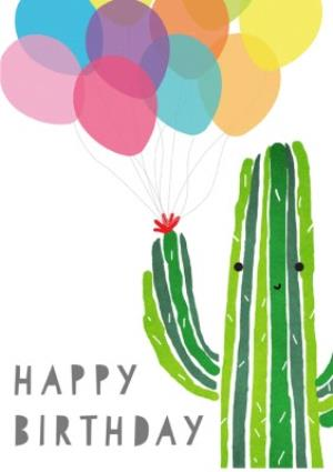 Greeting Cards - Cute birthday card - cactus  - Image 1