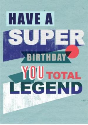 Greeting Cards - Birthday card - quick card - typographic - legend - Image 1