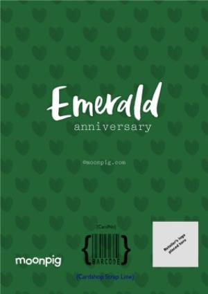 Greeting Cards - Emerald 55Th Anniversary Card - Image 4