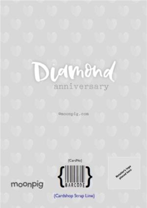 Greeting Cards - Diamond 60Th Anniversary Card - Image 4