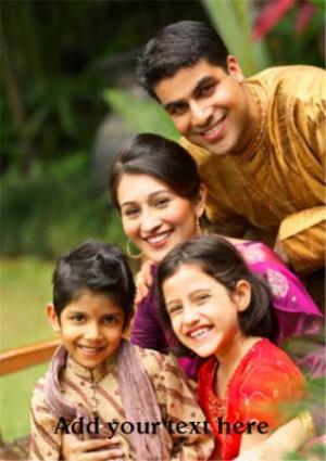 Greeting Cards - Diwali Photo Upload Card - Image 1