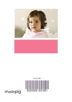Greeting Cards - 1st Birthday Photo Card - Image 4