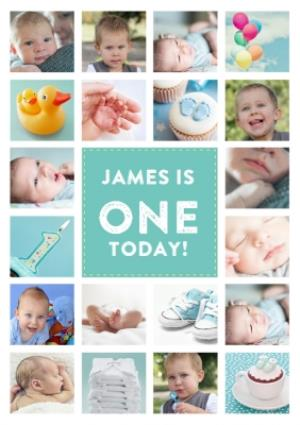 Greeting Cards - First Personalised Birthday Card - Image 1