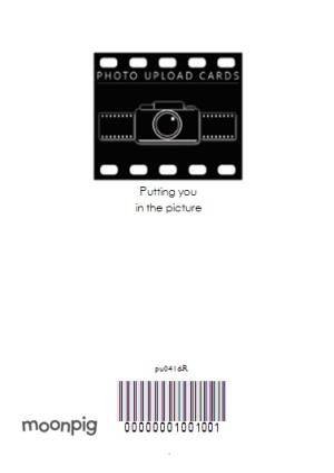 Greeting Cards - 21st Birthday Card - Photo Upload twenty first birthday card - Image 4