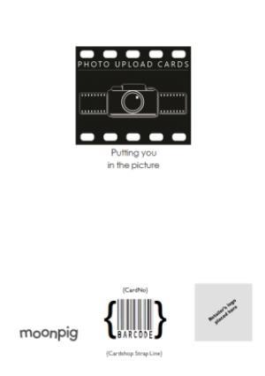 Greeting Cards - Black Script Lettering Love You Grandad Photo Card - Image 4