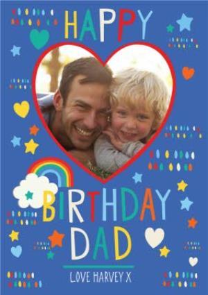 Greeting Cards - Dad Photo Upload Birthday Card  - Image 1