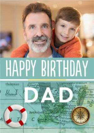 Greeting Cards - Dad Photo Upload Birthday Card  - Image 1