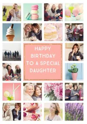 Greeting Cards - Birthday Card - Photo Upload Card - 20 Photos - Mum - Image 1