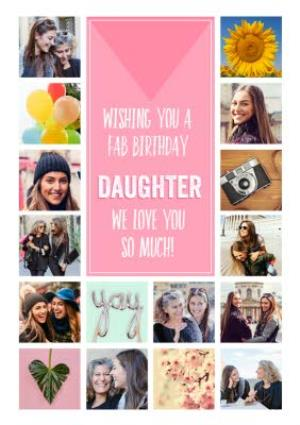 Greeting Cards - Birthday Card - Photo Upload Card - Daughter - Image 1