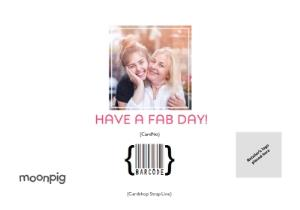 Greeting Cards - Birthday Card - Photo Upload Card - The Best Auntie - Image 4