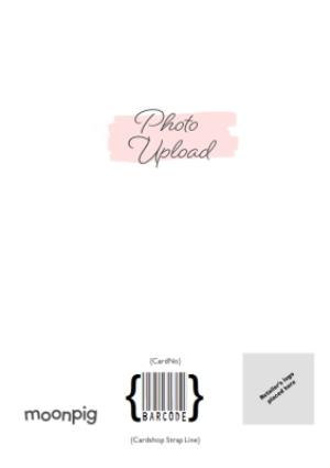Greeting Cards - Best Friend Photo Upload Card  - Image 4
