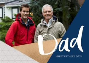 Greeting Cards - Father's Day Photo Card - Image 1