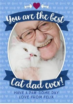 Greeting Cards - From The Cats Happy Father's Day Card - Image 1