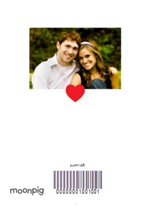 Greeting Cards - 4 Square Love You Personalised Photo Upload Happy Valentine's Day Card - Image 4