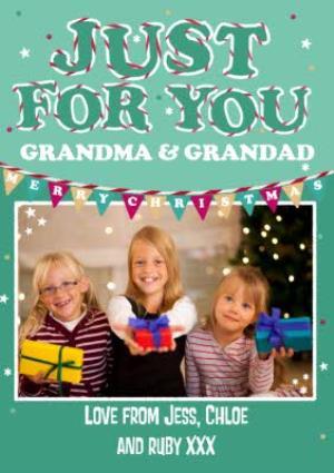 Greeting Cards - Christmas Card For Grandma & Grandad - Image 1