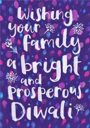 Greeting Cards - Diwali Message Card - Image 1