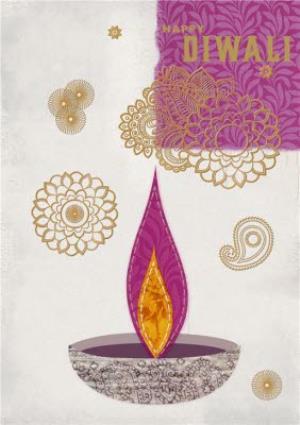Greeting Cards - Diwali Card - Image 1
