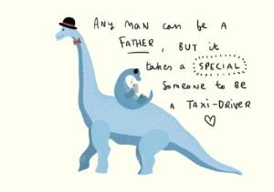 Greeting Cards - A Special Taxi Driver Fathers Day Card - Image 1