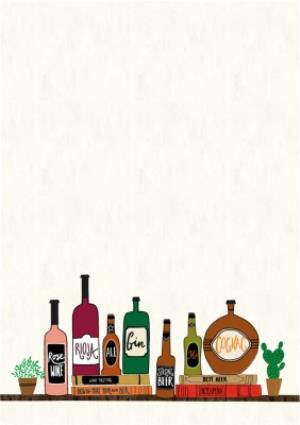 Greeting Cards - Alcohol On Shelf Photo Card - Image 2