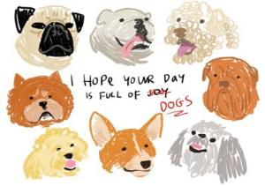 Greeting Cards - Birthday card - dogs - pets - animals - Image 1