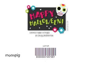 Greeting Cards - Cartoon Halloween Card - Image 4