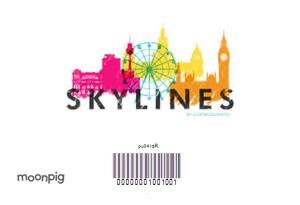 Greeting Cards - Colourful Birmingham Skyline Card - Image 4