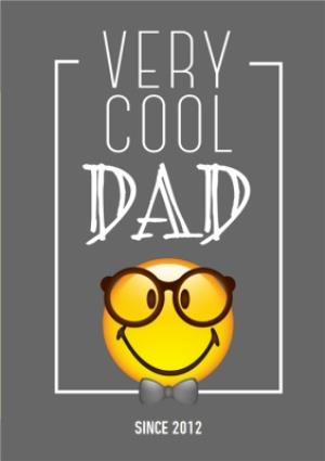 Greeting Cards - Father's Day Card - Cool Dad - Emoji - Image 1